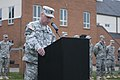 U.S. Army Command Sgt. Maj. Timothy Dotson, the outgoing command sergeant major for the 1st Battalion, 17th Infantry Regiment, 2nd Stryker Brigade Combat Team, 2nd Infantry Division, speaks during the change of 130314-A-ZZ999-085.jpg