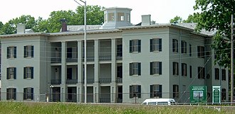 Portland, Louisville - The United States Marine Hospital of Louisville is considered the best remaining antebellum hospital in the United States