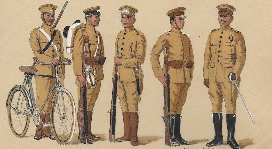 UEB Infantaria leve 1920