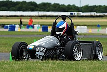 The University of Hertfordshire's Formula Student car in the 2006 ...