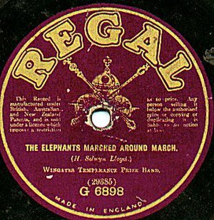 Regal Recordings - Early UK Regal record, issued prior to the mid-1920s