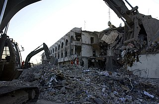 Canal Hotel bombing