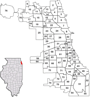 1700 East 56th Street - Community areas of Chicago (12th street is the border between area 32 and area 33).