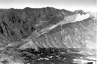 Khait landslide