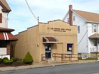 Banks Township, Carbon County, Pennsylvania - Image: USPO Tresckow PA 18254