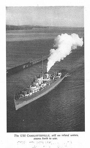 USS Charlottesville (PF-25) - Image: USS Charlottesville 393x 640pixels