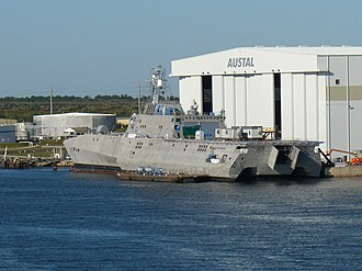 Austal USA - Image: USS Independence (LCS 2)