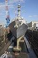 USS Lassen in drydock.jpg
