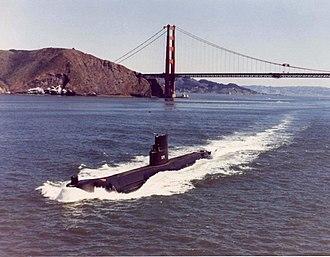 USS Seawolf (SSN-575) - Image: USS Seawolf (SSN 575)