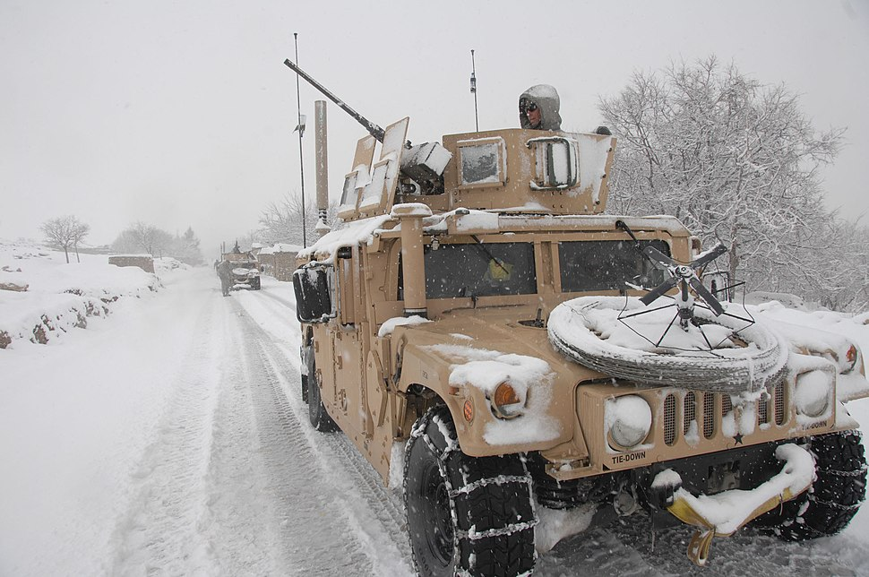 US Army in Kapisa Province of Afghanistan