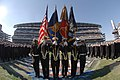 US Navy 051203-N-2653P-002 The U.S. Naval Academy Color Guard parades the colors during march-on ceremonies during the 106th playing of Army vs. Navy Football game.jpg