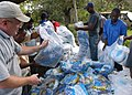 US Navy 060916-N-1328C-209 Highly needed medical supplies and mosquito nets were given out during a Medical Civic Action Program (MEDCAP) visit to Hindi, Kenya.jpg
