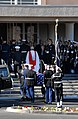 US Navy 061229-N-9909C-003 Members of the Armed Forces Honor Guard bear the casket of former President Gerald R. Ford into St. Margaret's Episcopal Church in Palm Desert, Calif., Dec. 29, 2006.jpg