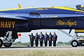 US Navy 110716-N-IR859-007 Members of the U.S. Navy Fight Demonstration Squadron, the Blue Angels.jpg