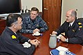 US Navy 111121-N-TM034-133 Vice Chief of Naval Operations (VCNO) Adm. Mark Ferguson, center, meets with Spanish navy rear admirals.jpg