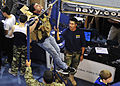 US Navy 120106-N-PA426-155 U.S. Navy SEALs and special warfare combatant-craft crewmen (SWCC) recruiters attended the 18th annual Hispanic Track an.jpg