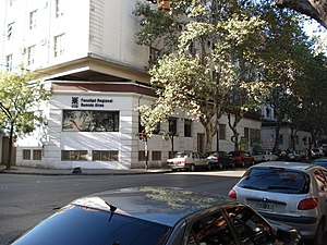 National Technological University - UTN, Buenos Aires, main building.