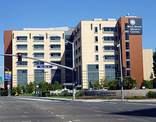 Hospital in California, United States