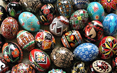 Ukrainian Easter Egg Designs