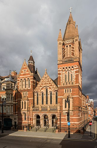 Ukrainian Catholic Eparchy of the Holy Family of London - Ukrainian Catholic Cathedral of the Holy Family in Exile