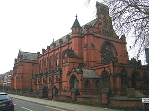 Thomas Worthington (architect) - Ullet Road Unitarian Church, Liverpool. Built 1899. Grade I.