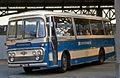 Ulsterbus coach in Great Victoria Street Bus Station, Belfast 5 July 1976 crop.jpg