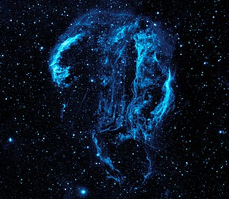 Ozone layer - Image: Ultraviolet image of the Cygnus Loop Nebula crop
