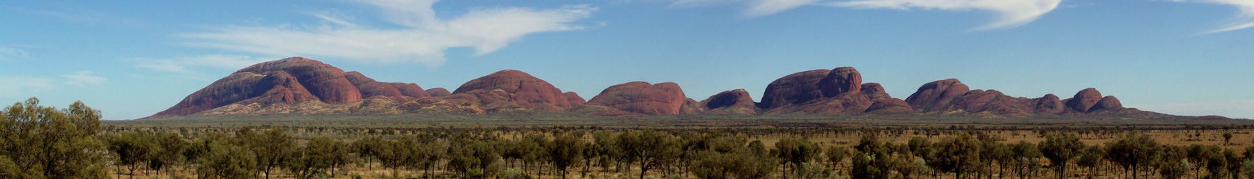 The 36 domes of Kata Tjuta, also known as Mount Olga