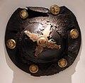 Umbone di scudo in ferro con guarnizioni dorate, da trento-piedicastello, VII secolo dc.jpg