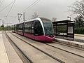 Un tramway arrêt Toison d'Or à Dijon (février 2021) - 2.jpg