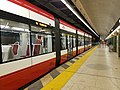 Underground Streetcar Platform at Spadina TTC Station.jpg