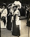 Unidentified suffragists at a demonstration, c.1908-1913. (22358542414).jpg