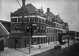 Montgomery, Alabama - Union Station Montgomery, circa 1900