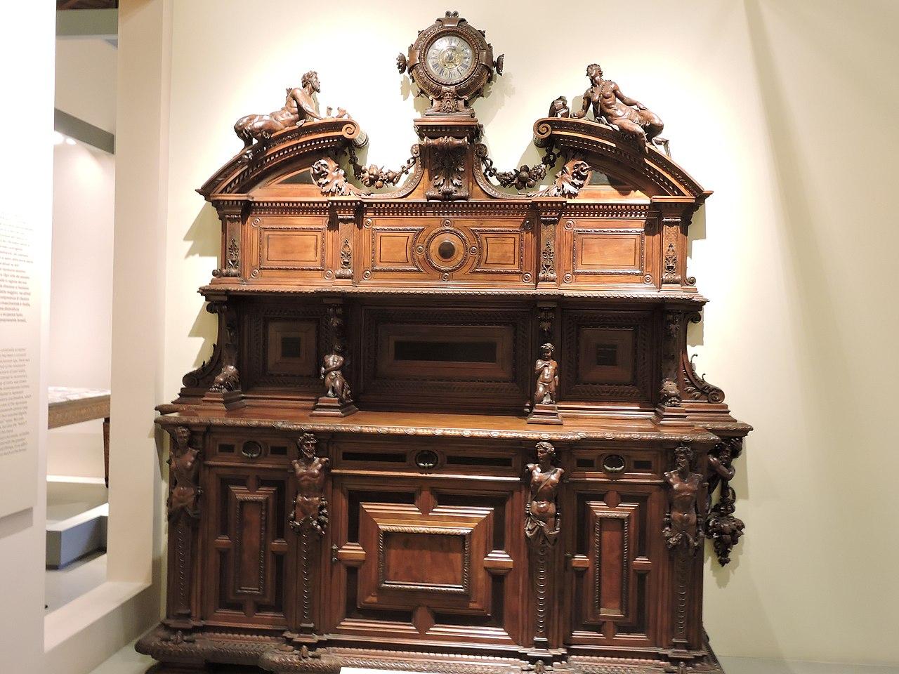 File Unique Furniture At Antique Furniture Wooden Sculpture Museum Milan