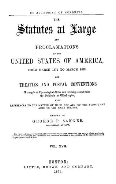 File:United States Statutes at Large Volume 17.djvu