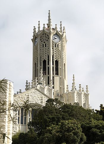Clock Tower building, University of Auckland