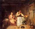 Unterbrochene Mahlzeit Rustige 1838.png