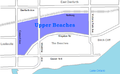 Upper beaches map.PNG