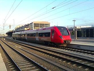Regina (train) - Upptåget X52 operated by Kollektivtrafikförvaltningen UL