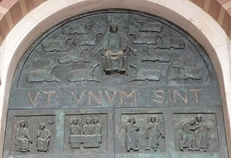 That they all may be one - Latin version, Ut ūnum sint, Speyer Cathedral.