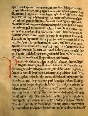 Adam of Bremen - A facsimile of Adam of Bremen's magnum opus.