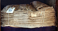 The Samarkand manuscript, now kept in Tashkent.