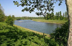 Uzh River - Uzh River near Uzhhorod