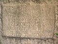 Výžerky, pamětní kámen, nápis.jpg