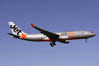 Jetstar Airways - Jetstar Airbus A330-200 about to land at Sydney