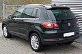 VW Tiguan 1.4 TSI BlueMotion Technologie Sport&Style Veneziengrün Heck.JPG