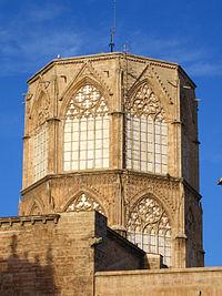 Cimborrio de la catedral: muestra del elegante gótico francés
