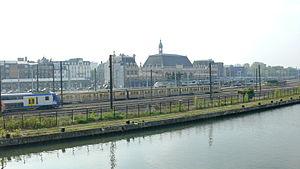 Gare de Valenciennes - Image: Valenciennes Escaut et Gare