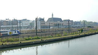 Gare de Valenciennes railway station in France