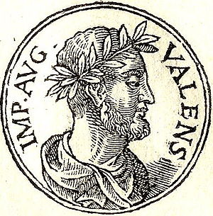 Valens Thessalonicus - Valens Thessalonicus from Promptuarii Iconum Insigniorum